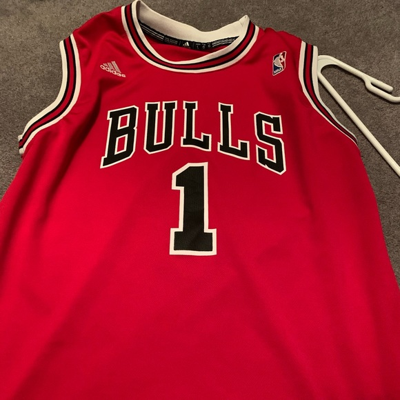 adidas Other - Youth large Bulls Jersey Rose